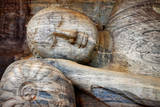 Laying Buddha in Polonnaruwa Temple - Medieval Capital of Ceylon,Unesco World Heritage Site Photographic Print by  Maugli-l