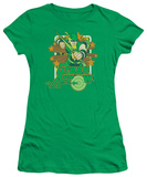 Juniors: Green Arrow - Green Arrow Stars T-Shirt