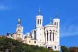 Basilica of Notre-Dame De Fourviere in Lyon Fotodruck von  prochasson