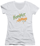 Juniors: Forrest Gump - Peas And Carrots V-Neck T-Shirt