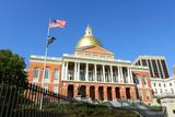 Massachusetts State House, Boston Fotografisk trykk av  jiawangkun