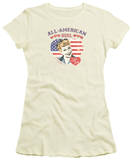 Juniors: I Love Lucy - All American T-Shirt