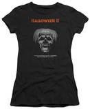 Juniors: Halloween II - Pumpkin Poster T-Shirts