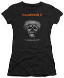 Juniors: Halloween II - Pumpkin Poster T-shirts