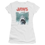 Juniors: Jaws - Vintage Poster T-shirts