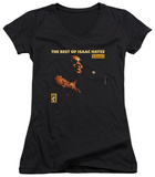Juniors: Isaac Hayes - Chain Vest V-Neck T-Shirt