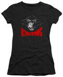 Juniors: King Kong - Kong Face T-shirts