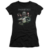 Juniors: Injustice: Gods Among Us - Key Art T-shirts