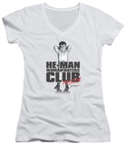 Juniors: Little Rascals - Club President V-Neck T-shirts