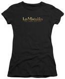 Juniors: Les Miserables - Logo T-shirts