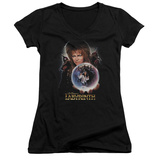 Juniors: Labyrinth - I Have A Gift V-Neck Shirts