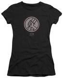 Juniors: Hellboy II - Mignola Style Logo T-shirts