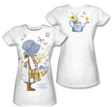 Juniors: Holly Hobbie - Butterfly Girl (Front/Back Print) T-shirts