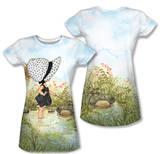 Juniors: Holly Hobbie - Ribbit (Front/Back Print) T-shirts