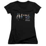 Juniors: Law & Order: SVU - Cast V-Neck T-Shirt