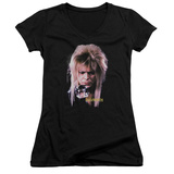 Juniors: Labyrinth - Goblin King V-Neck T-Shirt