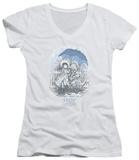 Juniors: Holly Hobbie - Rain Drops V-Neck T-shirts