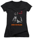 Juniors: John Coltrane - Stardust V-Neck Shirts