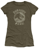 Juniors: Jurassic Park - JP Stamp T-Shirt
