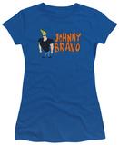 Juniors: Johnny Bravo - Johnny Logo Shirts