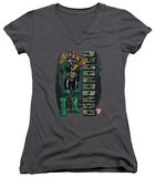 Juniors: Judge Dredd - Blam V-Neck Womens V-Necks