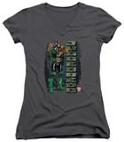 Juniors: Judge Dredd - Blam V-Neck T-shirts
