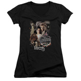 Juniors: Labyrinth - 25 Years Of Magic V-Neck T-Shirt