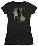Juniors: Miles Davis - Miles Portrait T-shirts