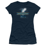 Juniors: Polar Express - Train Logo Shirt