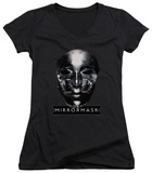 Juniors: Mirrormask - Mask V-Neck T-Shirt