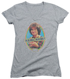 Juniors: Mork & Mindy - Nanu Nanu V-Neck Shirts