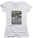 Juniors: Mad Magazine - Swinger V-Neck T-Shirt