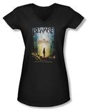 Juniors: Spiderwick Chronicles - Movie Poster V-Neck T-Shirt