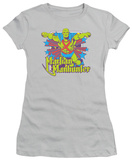 Juniors: Martian Manhunter - Manhunter Stars T-Shirt