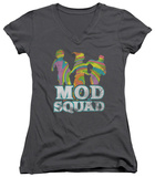 Juniors: Mod Squad - Mod Squad Run Groovy V-Neck Shirts