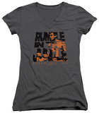 Juniors: Muhammad Ali - Rumble Crumble V-Neck T-Shirt