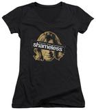 Juniors: Shameless - Frank Cover Up V-Neck T-shirts