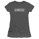 Juniors: Sons Of Anarchy - Samcro T-Shirt