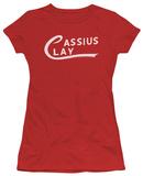 Juniors: Muhammad Ali - Cassius Clay Logo T-Shirt