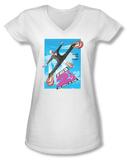 Juniors: Naked Gun 2-1/2 - Poster Art V-Neck Shirts