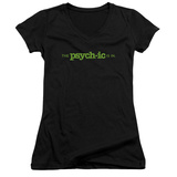 Juniors: Psych - The Psychic Is In V-Neck T-Shirt