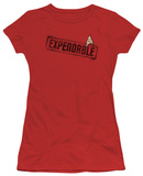 Juniors: Star Trek - Expendable T-Shirt