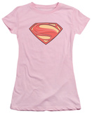 Juniors: Man Of Steel - New Solid Shield Shirt