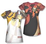 Juniors: Samurai Jack - Eternal Foes (Front/Back Print) T-shirts