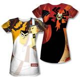 Juniors: Samurai Jack - Eternal Foes (Front/Back Print) Shirt