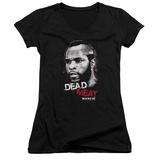Juniors: Rocky III - Dead Meat V-Neck Womens V-Necks