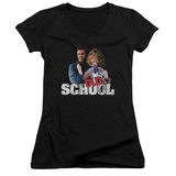 Juniors: Old School - Frank And Friend V-Neck T-shirts