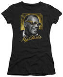 Juniors: Ray Charles - Golden Glasses T-shirts