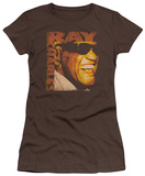Juniors: Ray Charles - Singing Distressed T-Shirt