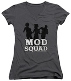 Juniors: Mod Squad - Mod Squad Run Simple V-Neck T-shirts